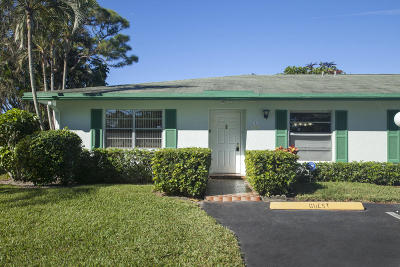 Delray Beach FL Single Family Home For Sale: $134,900
