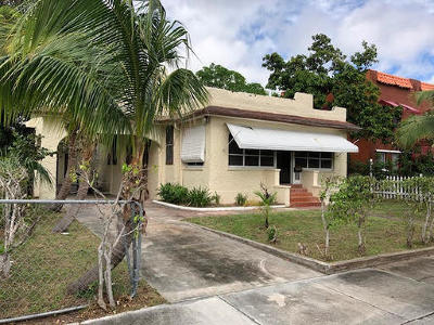 West Palm Beach Multi Family Home For Sale: 627 30th Street