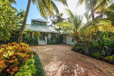 Tequesta Single Family Home For Sale: 12 Coconut Lane
