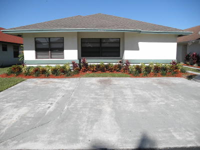 West Palm Beach FL Single Family Home For Sale: $247,500
