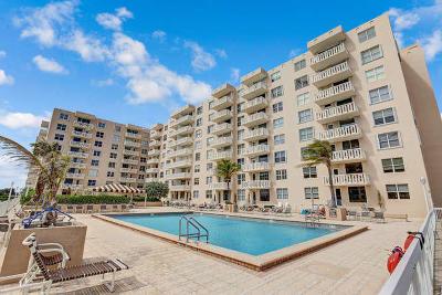 Palm Beach Condo For Sale: 3450 S Ocean Boulevard #302