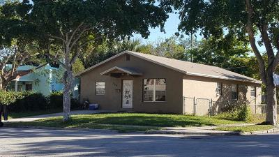 West Palm Beach FL Single Family Home For Sale: $180,000