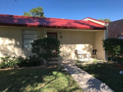 West Palm Beach FL Single Family Home For Sale: $68,500