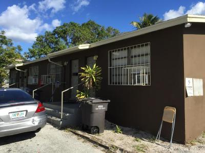 West Palm Beach Multi Family Home For Sale: 905 19 Street #1