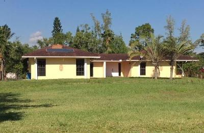 West Palm Beach Single Family Home For Sale: 11515 41st Court