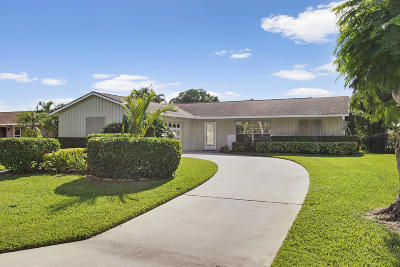 Palm Beach Gardens Single Family Home For Sale: 4306 Althea Way