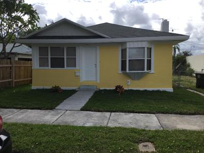 West Palm Beach Single Family Home For Sale: 524 55th Street