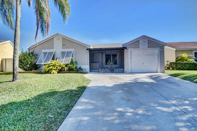 Boca Raton Single Family Home For Sale: 18957 Cloud Lake Circle