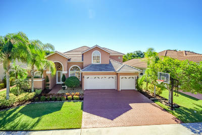 Boca Raton Single Family Home For Sale: 12678 Torbay Drive