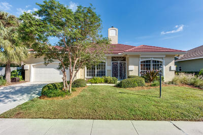 Palm Beach Gardens Single Family Home For Sale: 13390 William Myers Court