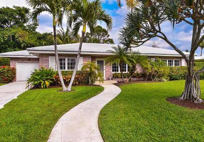 Palm Beach Single Family Home For Sale: 1465 Laurie Lane