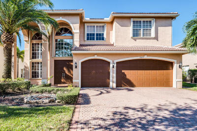 Delray Beach Single Family Home For Sale: 15619 Messina Isle Court