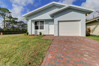 Jupiter Single Family Home For Sale: 17701 Yancy Avenue