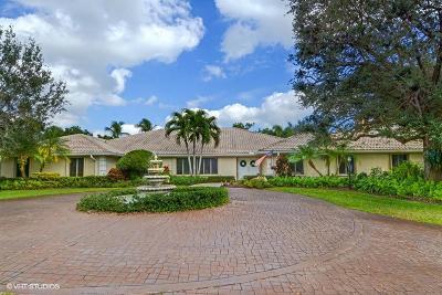 Boynton Beach Single Family Home For Sale: 10300 Prestwick Road