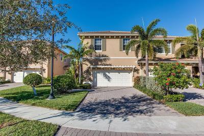 Palm Beach Gardens Townhouse For Sale: 4624 Cadiz Circle