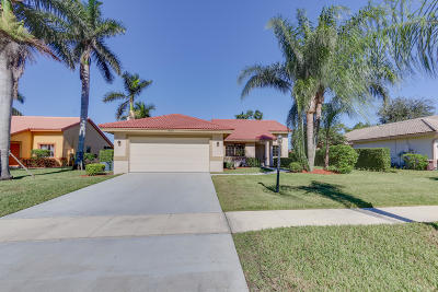 Delray Beach Single Family Home For Sale: 5609 Aspen Ridge Circle