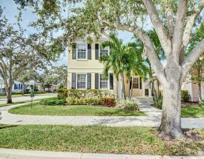 Jupiter Single Family Home For Sale: 244 Newhaven Boulevard