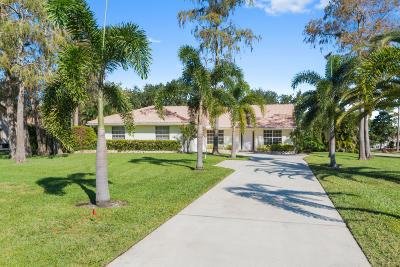 Lake Worth Single Family Home For Sale: 9407 Bent Pine Circle W