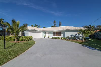 Juno Beach Single Family Home For Sale: 1951 Juno Isles Boulevard