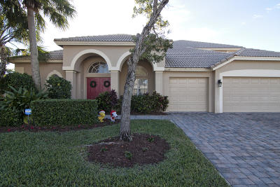 West Palm Beach Single Family Home For Sale: 3597 Turtle Island Court