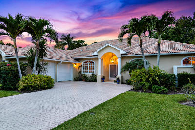 Hobe Sound Single Family Home For Sale: 4883 SE Longleaf Place