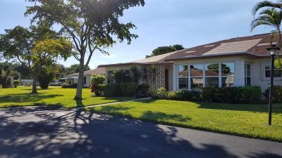 Delray Beach FL Single Family Home For Sale: $98,900