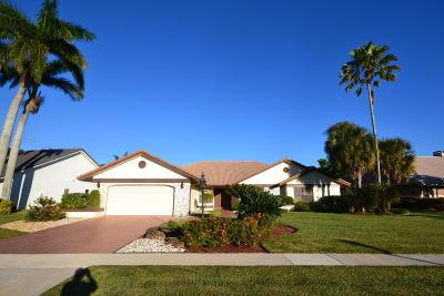 Boca Raton Single Family Home For Sale: 21824 Old Bridge Trail