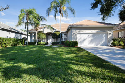 Palm City Single Family Home For Sale: 1603 SW Monarch Club Drive