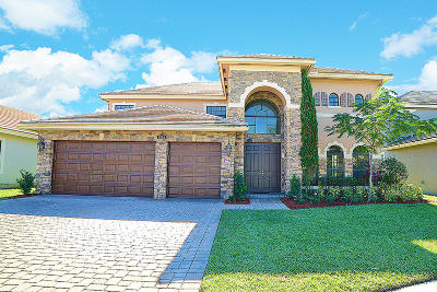 Boynton Beach Single Family Home For Sale: 9354 Equus Circle