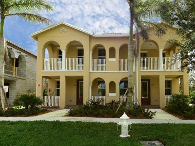 Jupiter Single Family Home For Sale: 1080 Community Drive