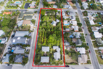 Lake Worth Residential Lots & Land For Sale: 1102-1130 Federal Highway