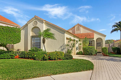 Palm Beach Gardens Single Family Home For Sale: 2504 La Cristal Circle