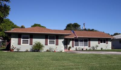 Boynton Beach Single Family Home For Sale: 1311 SW 27th Place