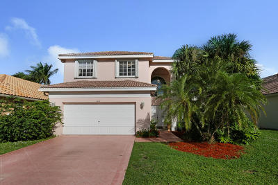 Lake Worth Single Family Home For Sale: 6071 Newport Village Way