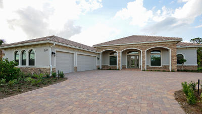 Palm City Single Family Home For Sale: 5187 SW Blue Daze Way