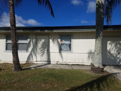 Port Saint Lucie Single Family Home For Sale: 871 SW Harvard Road