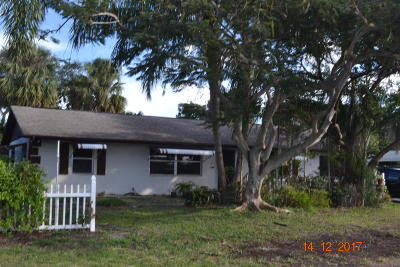 Jensen Beach Single Family Home Contingent: 3457 NE Jeannette Drive
