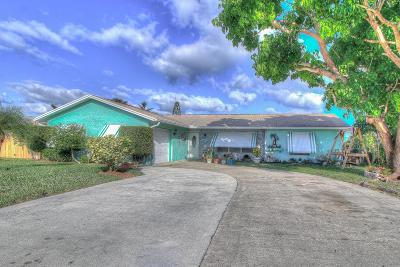 Hobe Sound Single Family Home For Sale: 9091 SE Eagle Avenue
