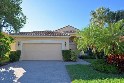 Boynton Beach Single Family Home For Sale: 6634 Maggiore Drive