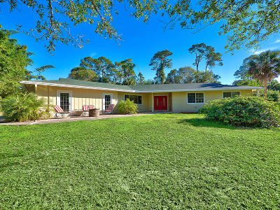 Palm City Single Family Home For Sale: 4140 SW Laurel Oak Terrace