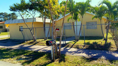 Fort Lauderdale FL Single Family Home For Sale: $149,000