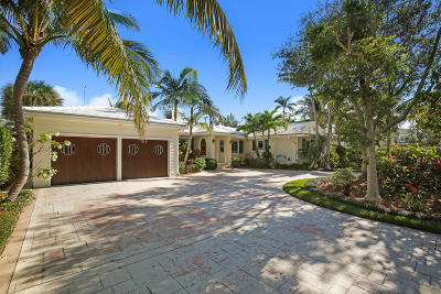 Lake Worth Single Family Home For Sale: 522 Lakeside Drive
