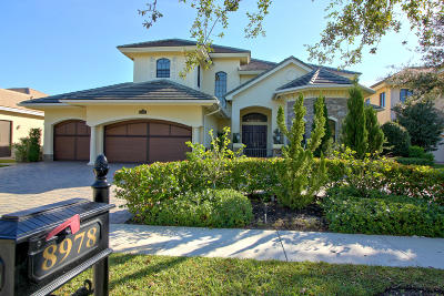 Boynton Beach Single Family Home For Sale: 8978 Three Rail Drive