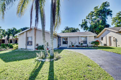 Boca Raton Single Family Home For Sale: 10610 Greenbriar Court