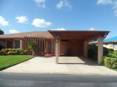 Delray Beach Single Family Home For Sale: 6748 Moonlit Drive #B