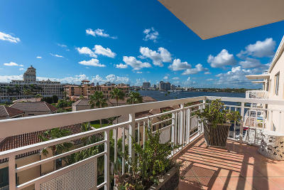 Palm Beach Condo For Sale: 250 Bradley Place #701