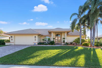 Lake Worth Single Family Home For Sale: 7172 Brickyard Circle