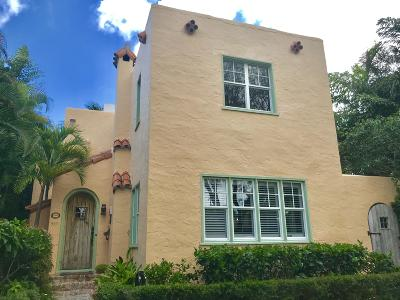 West Palm Beach Single Family Home For Sale: 555 35th Street