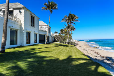 Palm Beach Single Family Home For Sale: 1125 S Ocean Boulevard