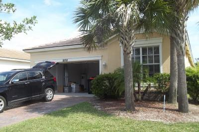 Port Saint Lucie Single Family Home For Sale: 10702 SW Gingermill Drive
